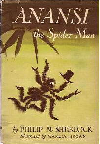 Book Anansi, the Spider Man